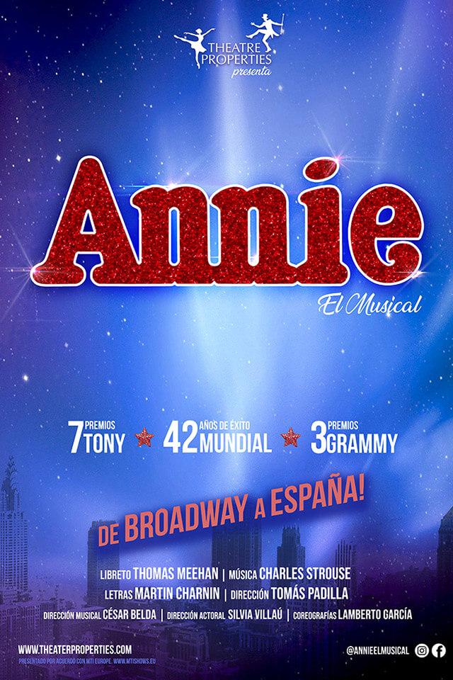 Annie, El Musical | Eva Manjón actriz