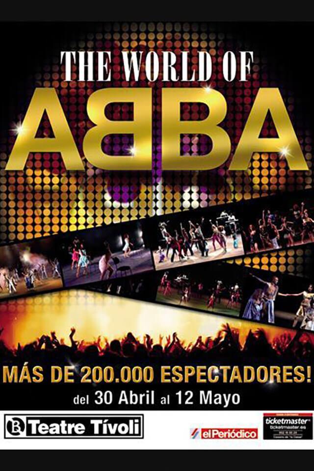 The World of ABBA   Eva Manjón Actriz