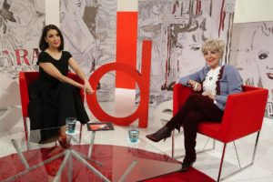 Entrevista a Eva Manjón por Concha Velasco en Cine de Barrio